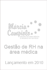 Capa do Livro HR Management in the medical field - Launching in 2010